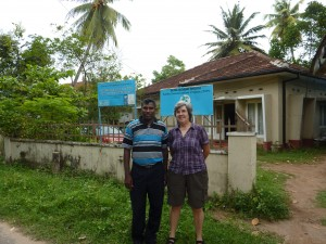 Thushan & Marilyn, Turtle Conservation office, Panadura Sri Lanka